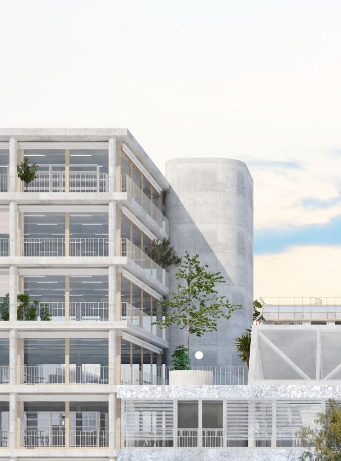 Bureaux et logements, Nantes
